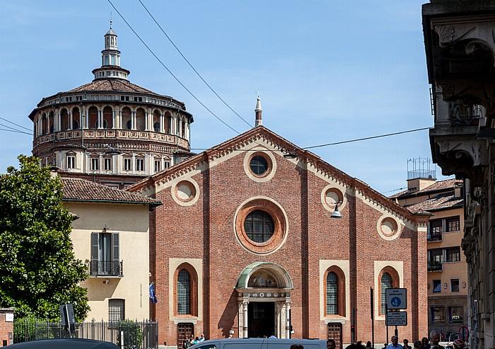 Mailand Via Fratelli Ruffini, Chiesa di Santa Maria delle Grazie