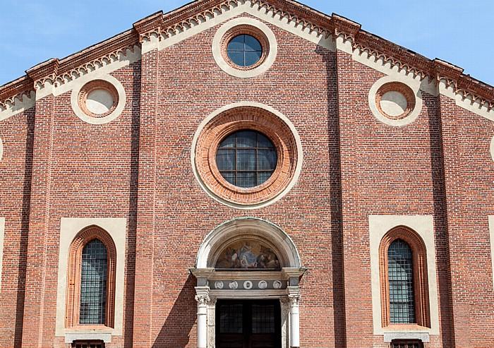 Mailand Chiesa di Santa Maria delle Grazie: Westfassade
