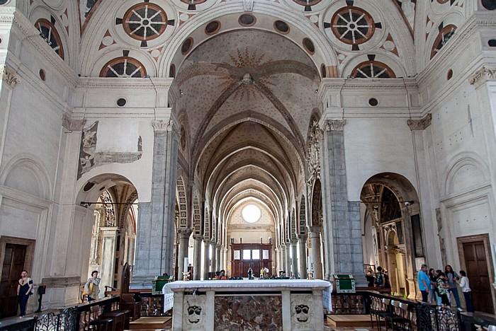Mailand Chiesa di Santa Maria delle Grazie: Altar, Hauptschiff und Seitenschiffe