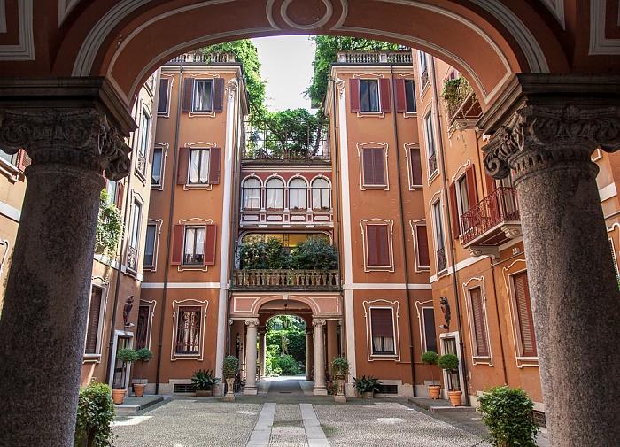 Mailand Via Giovanni Boccaccio