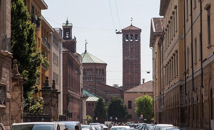 Mailand Via Santa Valeria Basilica di Sant'Ambrogio