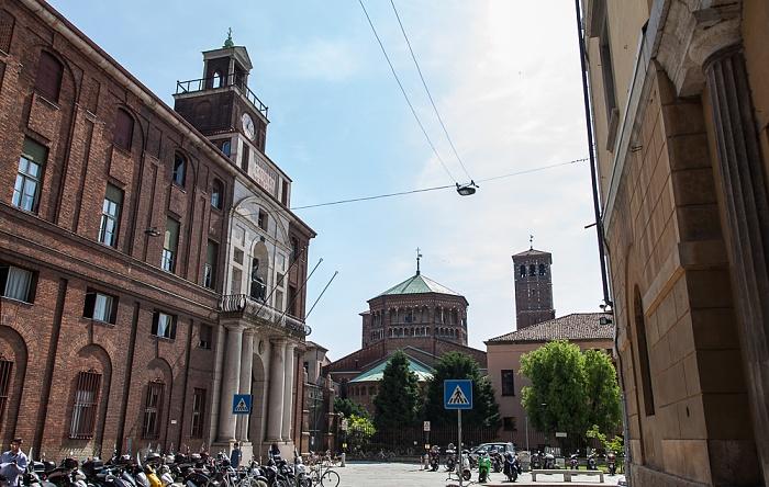 Mailand Via Santa Valeria Basilica di Sant'Ambrogio Università Cattolica del Sacro Cuore