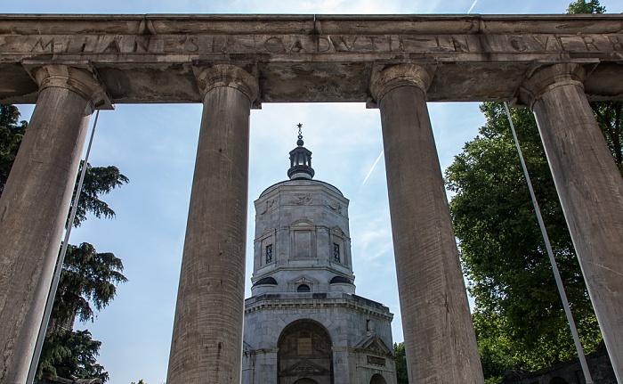 Mailand Piazza Sant'Ambrogio: Tempio della Vittoria (Sacrario dei Caduti Milanesi o Monumento ai caduti)