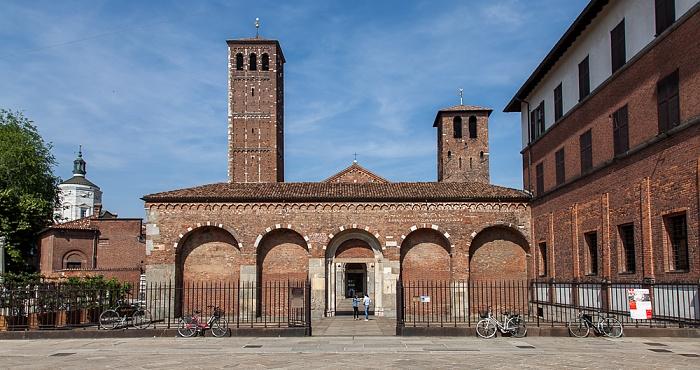 Mailand Via Lanzone: Basilica di Sant'Ambrogio Tempio della Vittoria