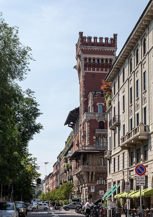 Mailand Via San Vittore: Castello Cova (Palazzo Viviani Cova)