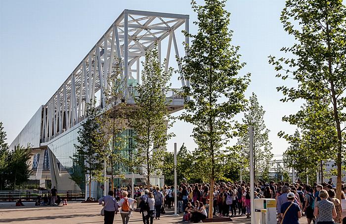 Mailand EXPO Milano 2015: Cardo, Eingang Süd Cardo EXPO 2015 Eingang Süd EXPO 2015