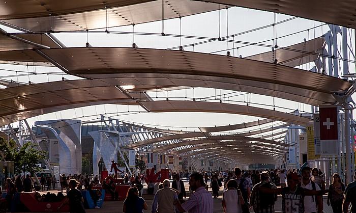 Mailand EXPO Milano 2015: Decumano