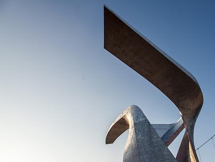 Mailand EXPO Milano 2015: Piazza Italia - Eine der Vier Skulpturen des Studio Libeskind Piazza Italia EXPO 2015 Vier Skulpturen des Studio Libeskind EXPO 2015