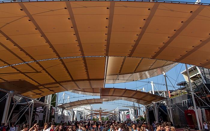 Mailand EXPO Milano 2015: Cardo Cardo EXPO 2015