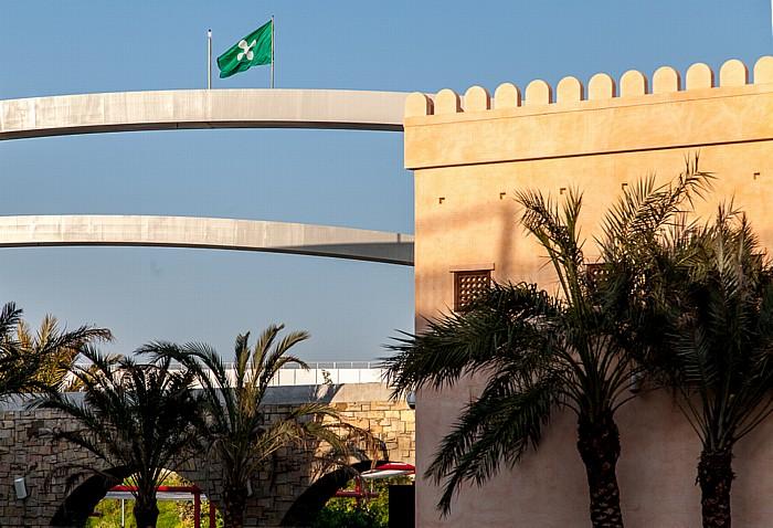 Mailand EXPO Milano 2015 Omanischer Pavillon EXPO 2015 Ponte Tre Archi