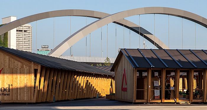 Mailand EXPO Milano 2015 Ponte Tre Archi