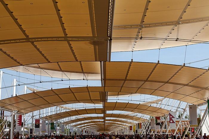 Mailand EXPO Milano 2015: Decumano Decumano EXPO 2015