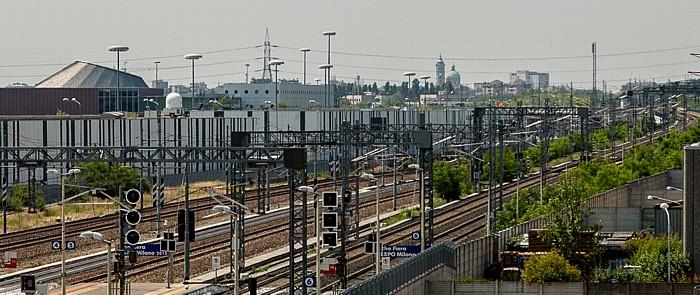 Mailand Stazione di Rho Fiera EXPO Milano 2015 Fieramilano