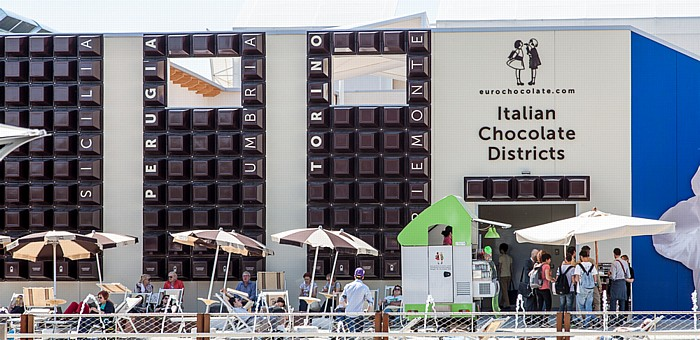 Mailand EXPO Milano 2015: Italian Chocolate District
