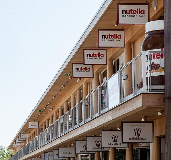 Mailand EXPO Milano 2015: nutella concept bar