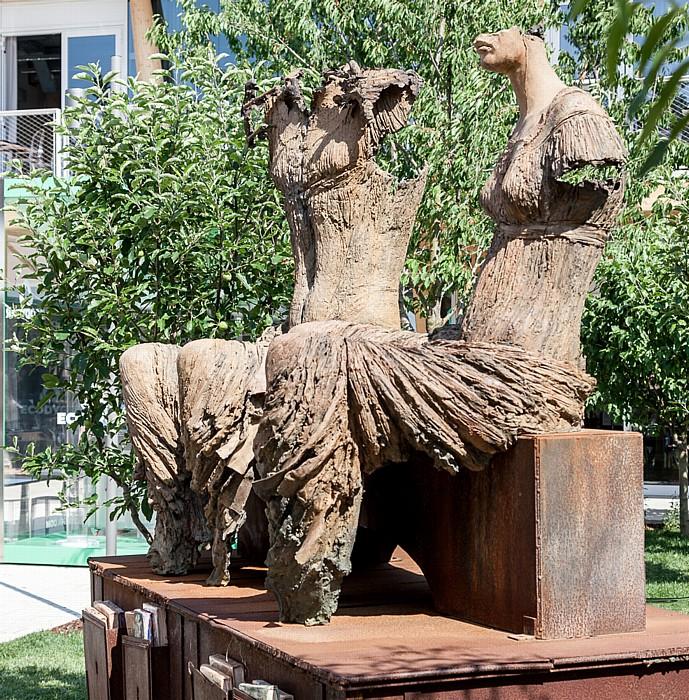 Mailand EXPO Milano 2015: Parco delle Sculture (Skulpturenpark) Padiglione Eataly Parco delle Sculture EXPO 2015