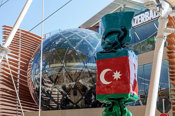 Mailand EXPO Milano 2015: Aserbaidschanischer Pavillon Aserbaidschanischer Pavillon EXPO 2015