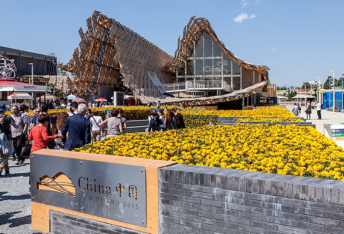 Mailand EXPO Milano 2015: Chinesischer Pavillon Chinesischer Pavillon EXPO 2015