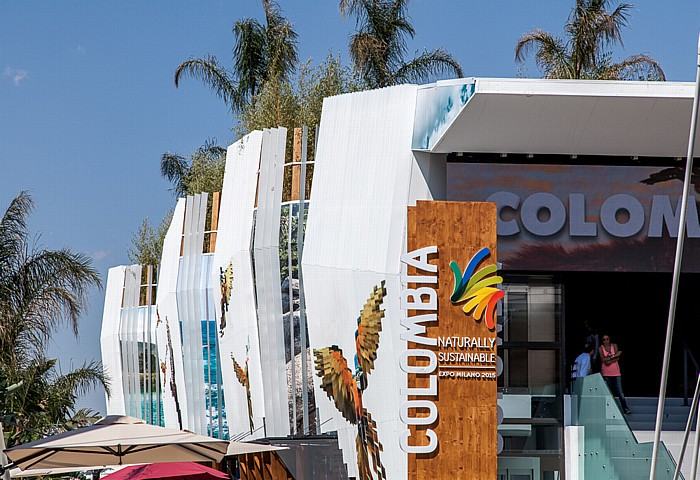 Mailand EXPO Milano 2015: Kolumbianischer Pavillon Kolumbianischer Pavillon EXPO 2015
