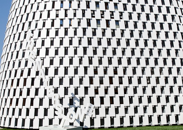 Mailand EXPO Milano 2015: Pavillon The Waterstone (Intesa Sanpaolo) Pavillon The Waterstone EXPO 2015