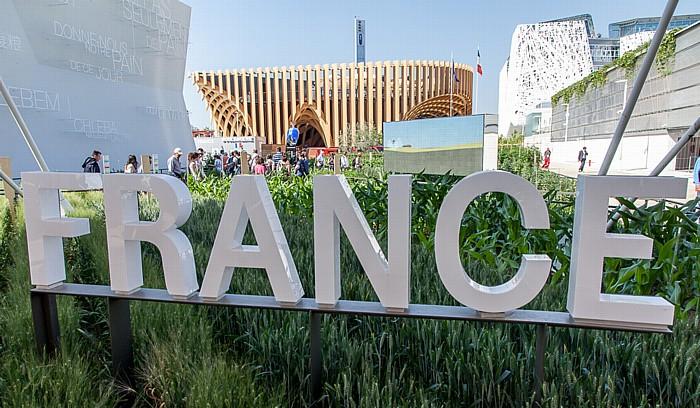 Mailand EXPO Milano 2015: Französischer Pavillon Französischer Pavillon EXPO 2015 Israelischer Pavillon EXPO 2015 Italienischer Pavillon EXPO 2015