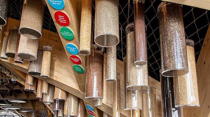 Mailand EXPO Milano 2015: Französischer Pavillon - Getreide Französischer Pavillon EXPO 2015