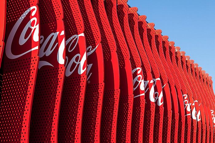 Mailand EXPO Milano 2015: Coca-Cola-Pavillon Coca-Cola-Pavillon EXPO 2015
