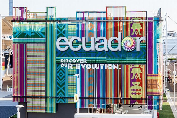 Mailand EXPO Milano 2015: Ecuadorianischer Pavillon Ecuadorianischer Pavillon EXPO 2015