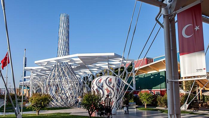 Mailand EXPO Milano 2015: Türkischer Pavillon Türkischer Pavillon EXPO 2015