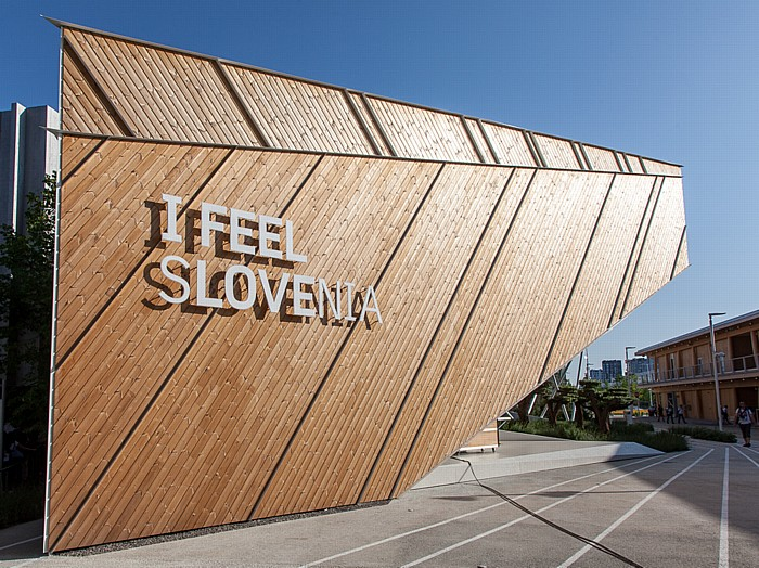 Mailand EXPO Milano 2015: Slowenischer Pavillon Slowenischer Pavillon EXPO 2015
