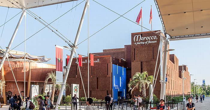 Mailand EXPO Milano 2015: Marokkanischer Pavillon Marokkanischer Pavillon EXPO 2015