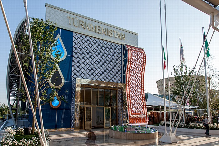 Mailand EXPO Milano 2015: Turkmenischer Pavillon Turkmenischer Pavillon EXPO 2015