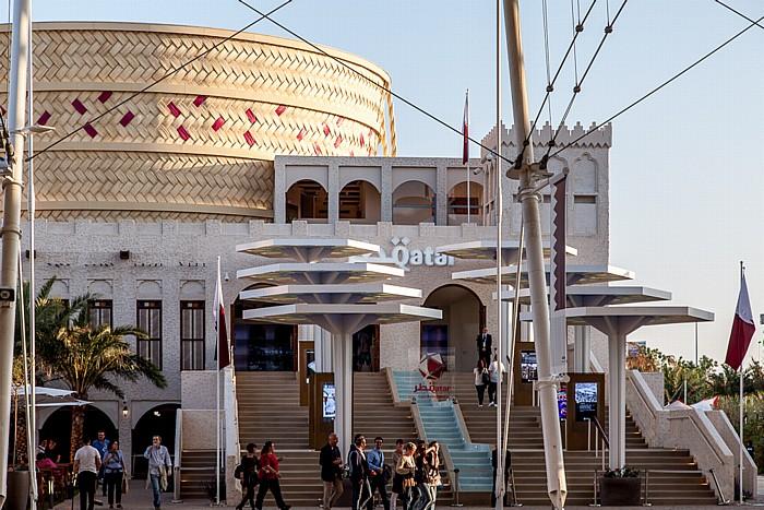 Mailand EXPO Milano 2015: Qatarischer Pavillon Qatarischer Pavillon EXPO 2015