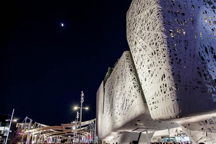 Mailand EXPO Milano 2015: Cardo und Italienischer Pavillon Cardo EXPO 2015 Italienischer Pavillon EXPO 2015