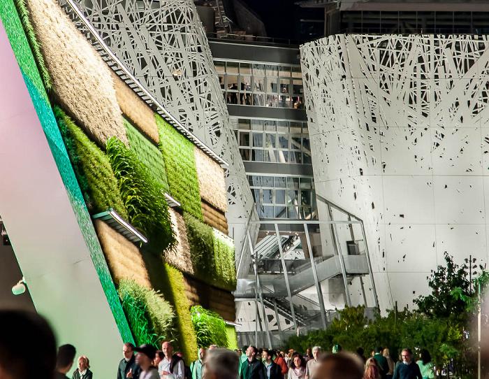 Mailand EXPO Milano 2015: Israelischer Pavillon - Vertical Field Israelischer Pavillon EXPO 2015 Italienischer Pavillon EXPO 2015