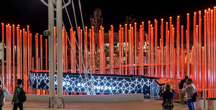 Mailand EXPO Milano 2015: Enel-Pavillon Enel-Pavillon EXPO 2015