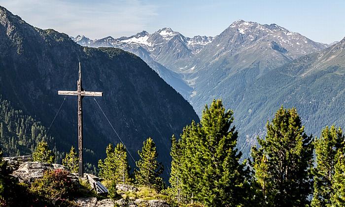 Hochoetz Blick von der Bielefelder Hütte: Ötztaler Alpen