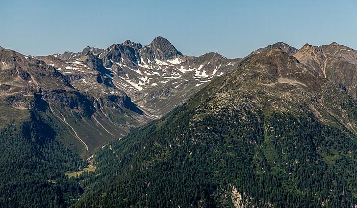 Hochoetz Blick von der Bielefelder Hütte: Geigenkamm (Ötztaler Alpen)