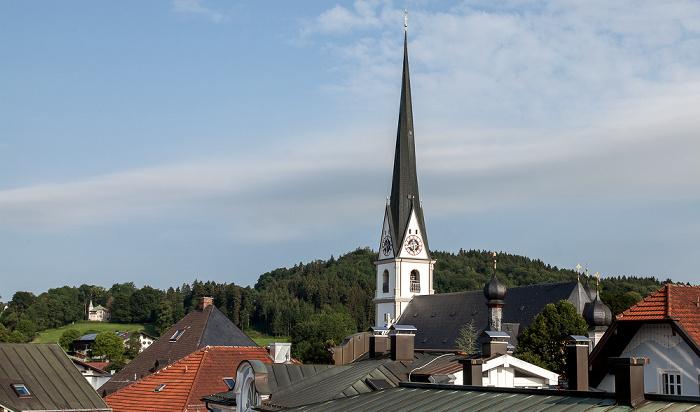 Prien am Chiemsee Pfarrkirche Mariä Himmelfahrt Taufkapelle St. Johannes d.T.