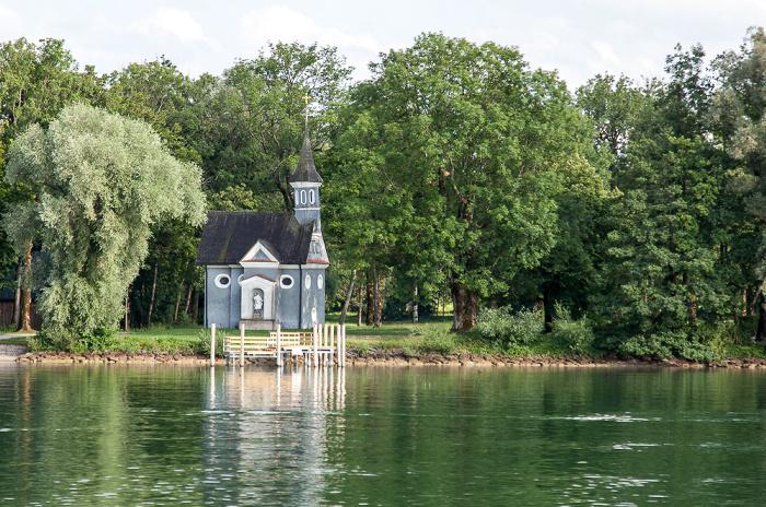 Chiemsee Herreninsel (Herrenchiemsee): Seekapelle Heilig Kreuz