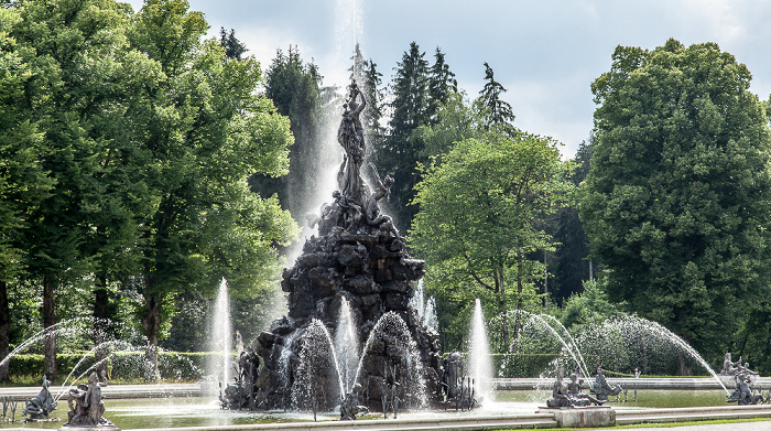 Herreninsel Schlosspark Herrenchiemsee: Fortunabrunnen