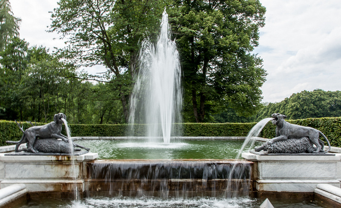 Herreninsel Schlosspark Herrenchiemsee: Südlicher Marmorbrunnen