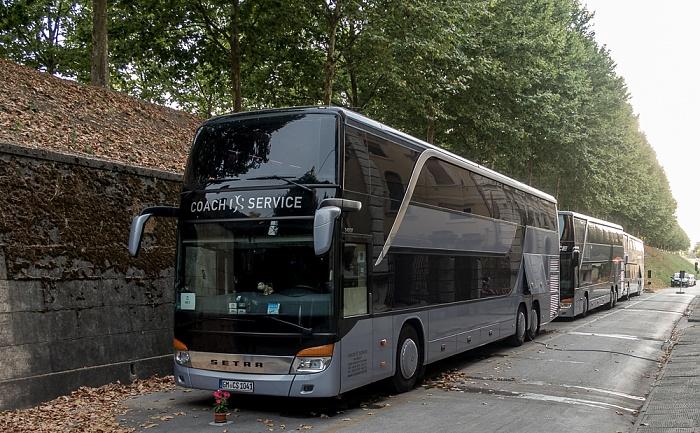 Befestigungswall (Mura di Lucca): Mark-Knopfler-Tourbusse
