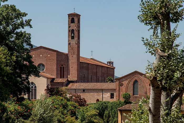 Blick vom Befestigungswall (Mura di Lucca): Chiesa di San Francesco