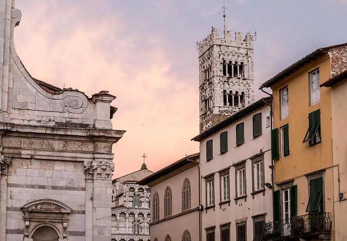 Lucca Centro Storico Cattedrale di San Martino Chiesa dei Santi Giovanni e Reparata