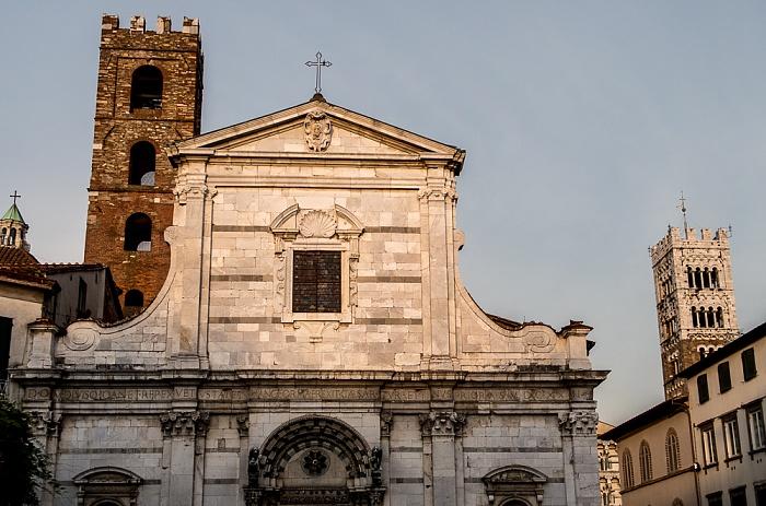 Lucca Centro Storico: Chiesa dei Santi Giovanni e Reparata Cattedrale di San Martino