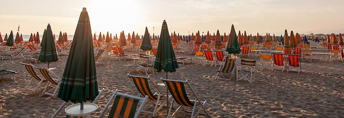 Viareggio Versilia: Strandbäder und Mittelmeer