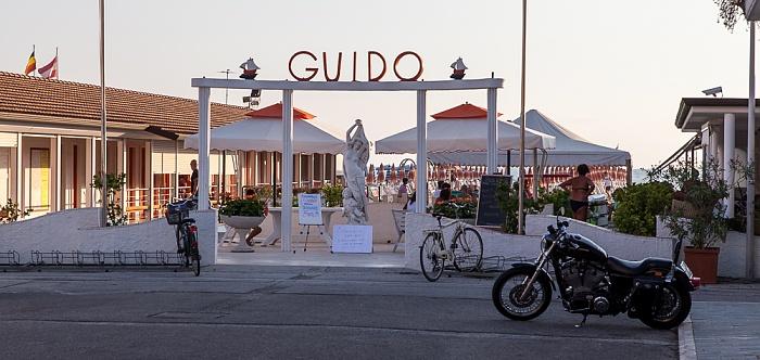 Viareggio Versilia: Bagno Guido (Strandbad)
