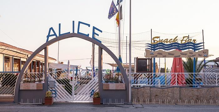 Viareggio Versilia: Bagno Alice (Strandbad)