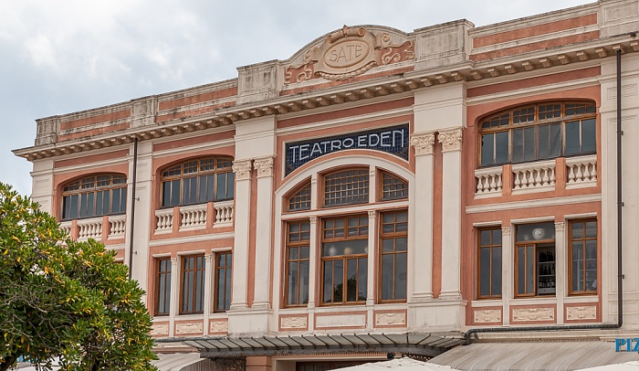 Viareggio Viale Regina Margherita: Teatro Eden